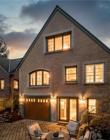 Whittier Brick Tudor